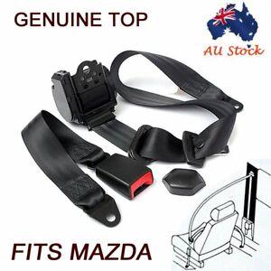 For Mazda 3-Points AU Car Universal Seat Belt Strap Retractable Seatbelt Harness