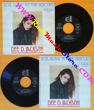 LP 45 7'' DEE D. JACKSON S.o.s. love to the rescue Sky walking 1980 no cd mc*dvd