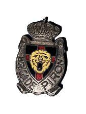 Insigne Boutonnière Brigade Piron Belgique 🇧🇪