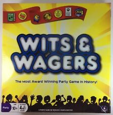 Board Game Wits And Wages Party Game Guess And Bet By Dominic Crapuchettes Mensa