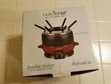 NutriChef Fondue Maker - In Original Box, Never Used