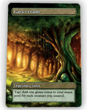 = 4X Gaea's Cradle / Gaeas Cradle X4 = Full Art Borderless = Magic Lotus Cards =