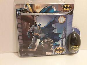Sakar Batman Optical Mouse & Mouse Pad Kit