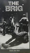 THE BRIG JULIAN BECK JUDITH MALINA LIVING THEATRE MYSTIC FIRE (1964 VHS)