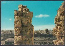 Jordanien Jordan used Post Card Postkarte Jerusalem Holy Views [cm539]