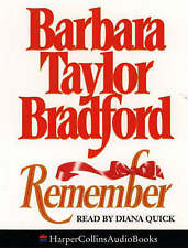 Remember by Barbara Taylor Bradford (Audio cassette, 1991)