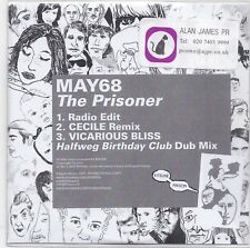 May 68-The Prisoner promo cd maxi single 3 tracks