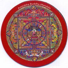 Magnet AMITABHA BUDDHA MANDALA ~ Kühlschrankmagnet ~ Pin (989)