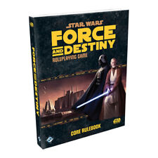 Star Wars: Force and Destiny RPG Core Rulebook by Fantasy Flight Games (Hardback, 2015)