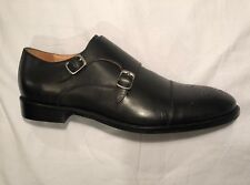 Warfield & Grand Double Buckle Monkstrap - Black (8.5 US) - RRP $260
