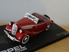 IXO ALTAYA COLLECTION OPEL SUPER 6 RED 1937 - 1938 CAR MODEL 1:43 CL50