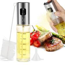 2Stk Ölsprüher mit Sprühnebel 100ml Sprühflasche Essig- und Öl Zerstäuber Spray
