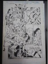 PLANCHE ORIGINALE COLOSSUS X-MEN par BRYAN HITCH