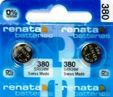 380 RENATA SR936W (2 piece) SR936 WATCH BATTERY New packaging Authorized Seller