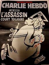 Charlie Hebdo n° 1224**06/1/2016*RARE EDITION SPÉCIALE*L'ASSASSIN COURT TOUJOURS