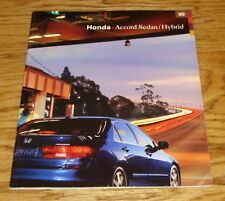 Original 2005 Honda Accord Sedan & Hybrid Deluxe Sales Brochure 05