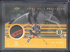 1999-2000 Upper Deck MVP Game Used Puck #GU-RB Ray Bourque