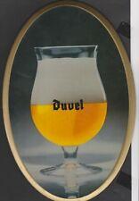 Glaçoïde publiciaire BIERE DUVEL Belgique -  1980
