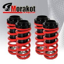 Red Black 02-05 V6 Scale Adjustable Suspension Coilover Lowering Drop Kit D-Lock