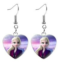 💕BellaBow Children Kids Princess Earrings Frozen Elsa & Anna