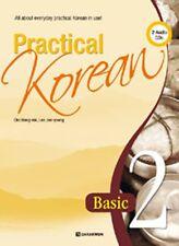 Practical Korean 2 Basic for English Speaker +Workbook +CD Freeship