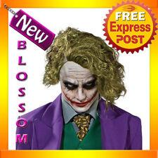 W40 Mens Batman Dark Knight The Joker Adult Fancy Dress Costume Wig