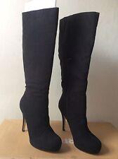 Ladies / Women Branded New BARRATTS High Heel Knee High Boots UK 7 Black