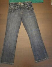 "Kut from the Kloth Jeans Size 4 W 30"" In 28"" Out 37.5"" Hips 36"" FR 9"" BR 13.5"""