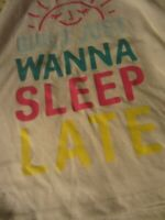 EUC GAP Kids Girls Sleep Late Tank Top Size 8