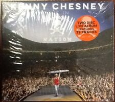 NEW SEALED CD KENNY CHESNEY LIVE IN NO SHOES NATION 2 DISC SET DIGIPAK
