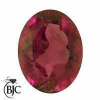 Natural Oval Cut Mined Rubelite Pink / Red Tourmaline Loose AAA+ Quality Cut