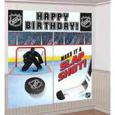 NHL Ice Time National Hockey League Sports Birthday Party Wall Decorating Kit