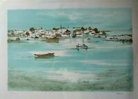 Claude Casati Signed & Numbered Lithograph.Listed French Artist