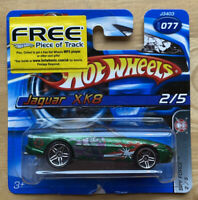 2006 Hotwheels Spy Force Jaguar XK8 2/5 rare! Vintage! Mint with Opened Card!