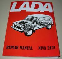 Reparaturanleitung Lada Niva 2121 Benzin 1.7 + Diesel TD 21213 21214 21215 Buch!