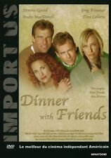 """DVD """"DINNER WITH FRIENDS""""  DENNIS QUAID / A.MacDOWELL  NEUF  SOUS BLISTER"""