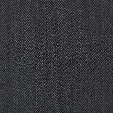 Holland and Sherry Dark Grey Narrow Herringbone All Wool Suiting - 3.50 Mtrs