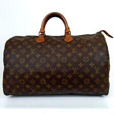 Authentic LOUIS VUITTON M41522 Monogram Speedy 40 VI873 Handbag PVC/leather[...