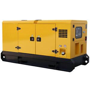 Stromerzeuger schallgedämmt 18kVA 15kW 400V Notstromaggregat Diesel Generator