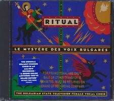 SEALED NEW CD Le Mystere Des Voix Bulgares - The Bulgarian State Television Fema