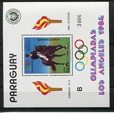 Paraguay Block 395 postfrisch / Olympiade - Pferdesport ..................1/1967