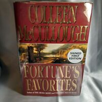 Colleen McCullough ~ FORTUNE'S FAVORITES ~ Brand New First Edition ~ SIGNED