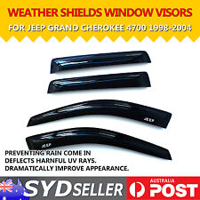 Weather Shields Car Window Visors For Jeep Grand Cherokee 1998-04 Keep Rain Out
