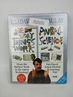 The New Way Things Work & Pinball Science 2000 2 pack CD-ROM's by David Macaulay