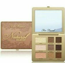 Too Faced Natural Matte Eyeshadow Palette NIB $38 Neutral Shades 100% Authentic
