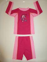 SOLAIT-UV-Schutz-Schwimmkleidung 2-tlg.Schwimm-Shirt+Badehose pink Gr. 98 **NEU*
