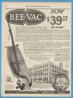 1922 Birtman Electric Co Chicago Bee Vac Carpet Sweeper Vacuum Cleaner Ad photo