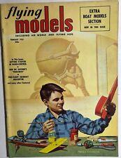 FLYING MODELS Magazine February 1953 Fixit Wright Golden Age comic strip