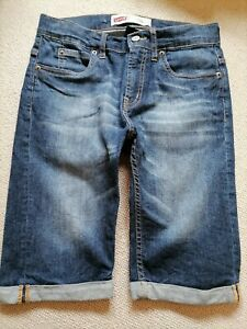 Levi's 511 denim shorts age 14