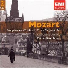 Mozart: Symphonies 29, 30, 31, 34, 38 & 39 - Daniel Barenboim, English Chamber O